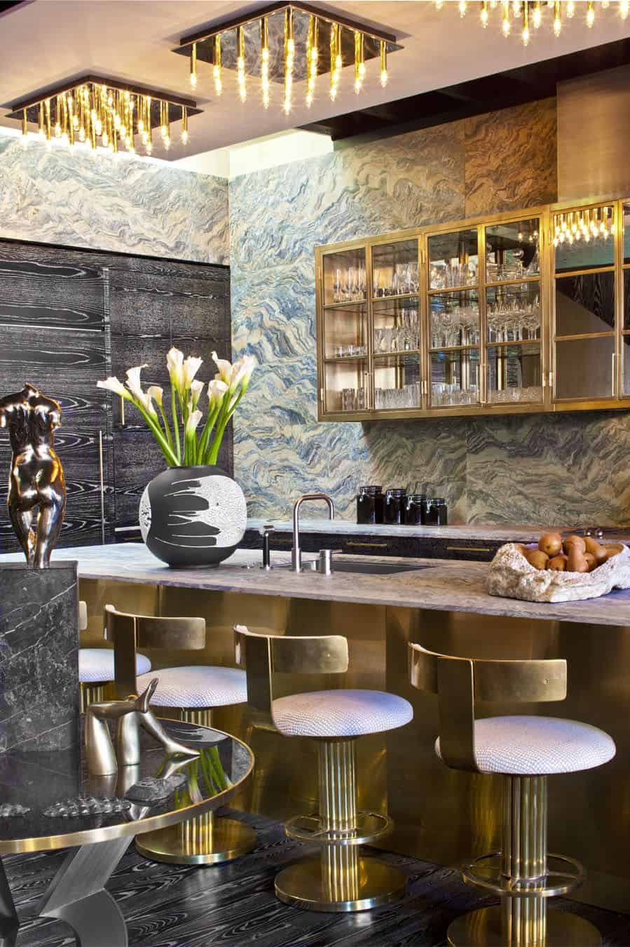 elegant home bar Home Bar Decorating Ideas That Are One Of A Kind