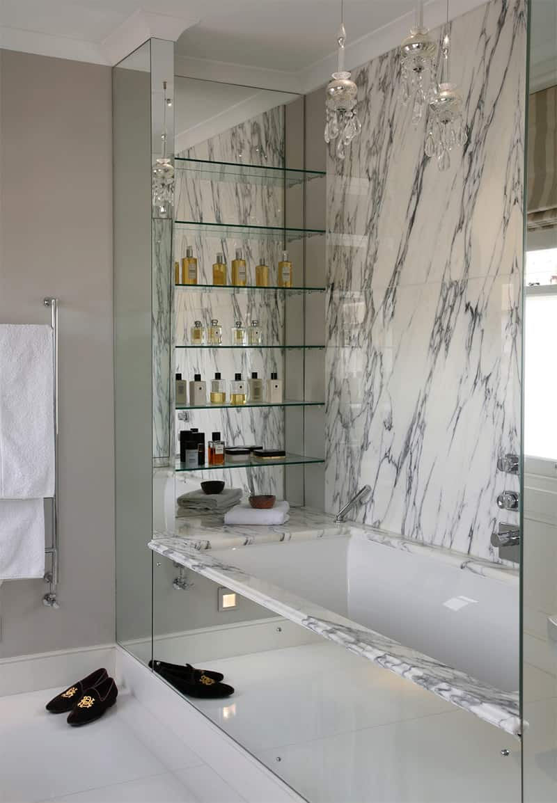 glass shelving.jpg 2 Bathroom Shelving Ideas That Are Just As Charming