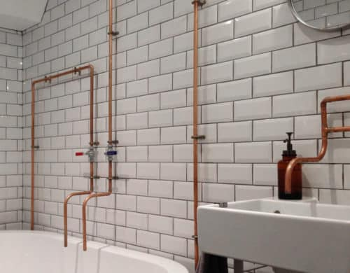 Enchanting Bathrooms With Subway Tiles