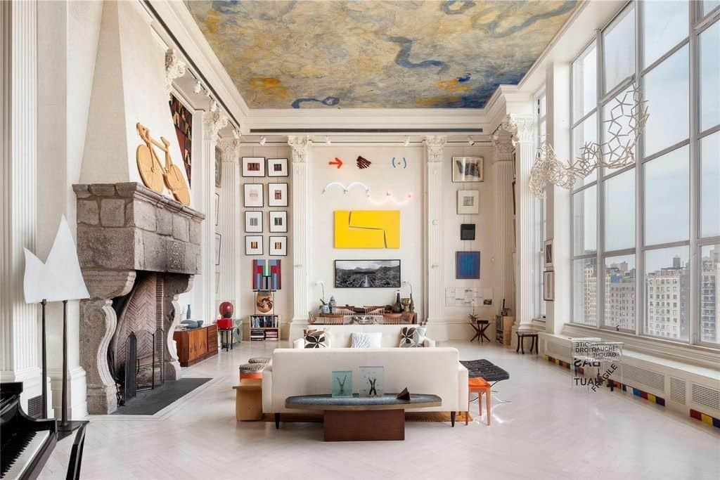 painted ceiling Ceiling Design Ideas To Instantly Upgrade Any Room