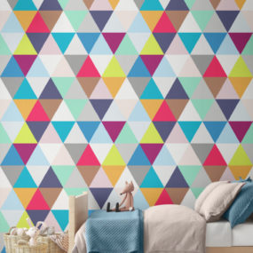 Geometric Walls That Bring Fun Into Any Room