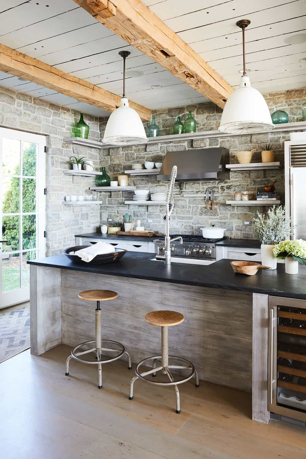rustic kitchen touch