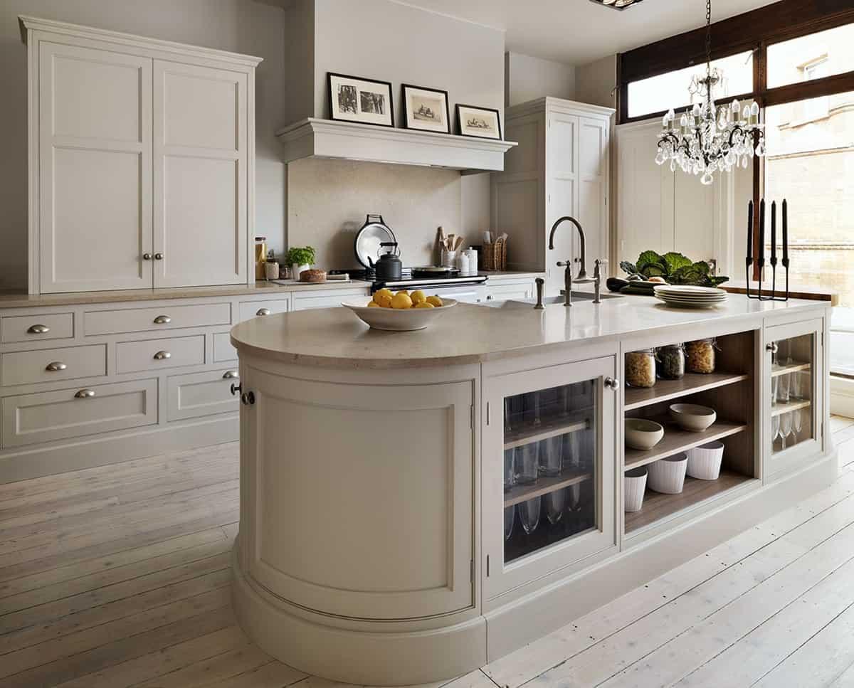 taupe kitchen 2