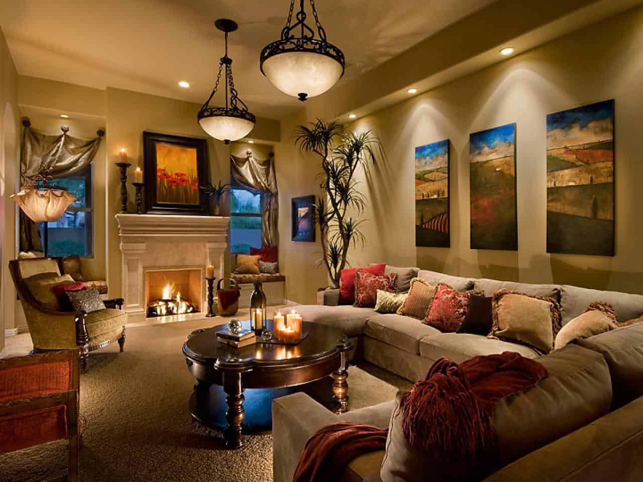 warmer living room