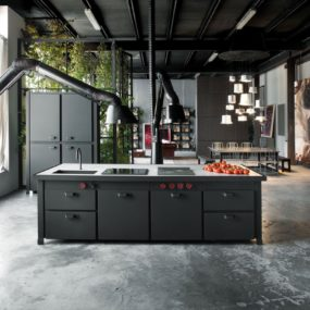 Industrial Kitchens with Alluring Style