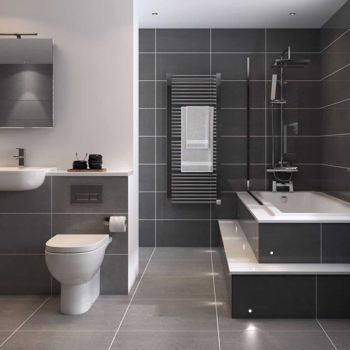 Beautiful Grey Bathroom Ideas How To