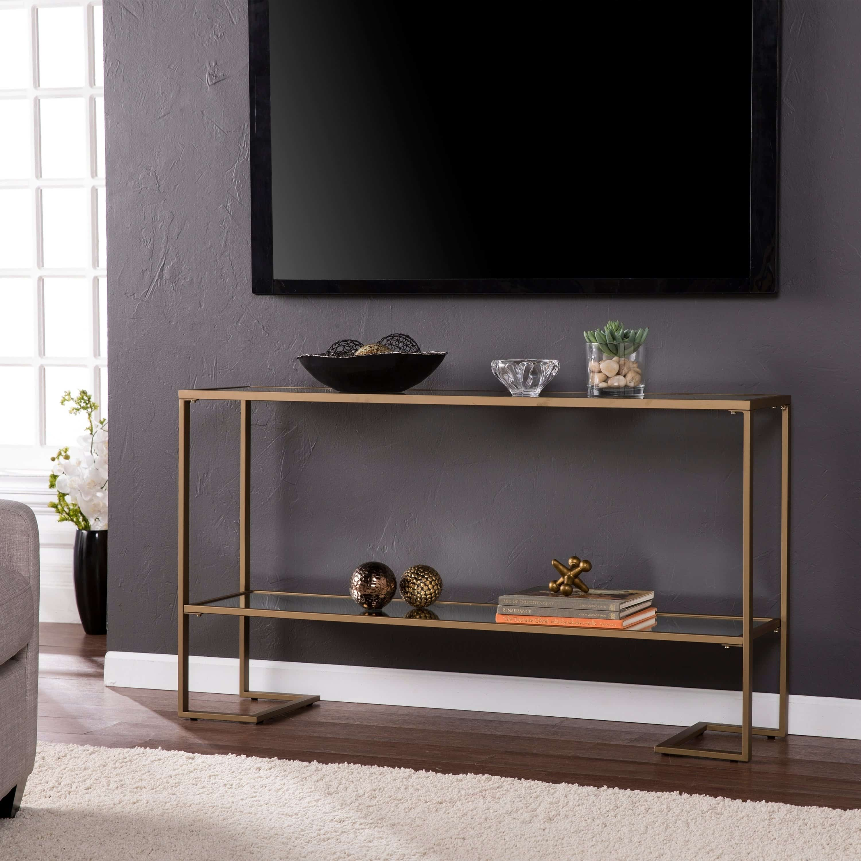 gold console