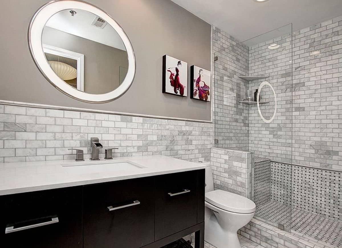 gray subway tiles