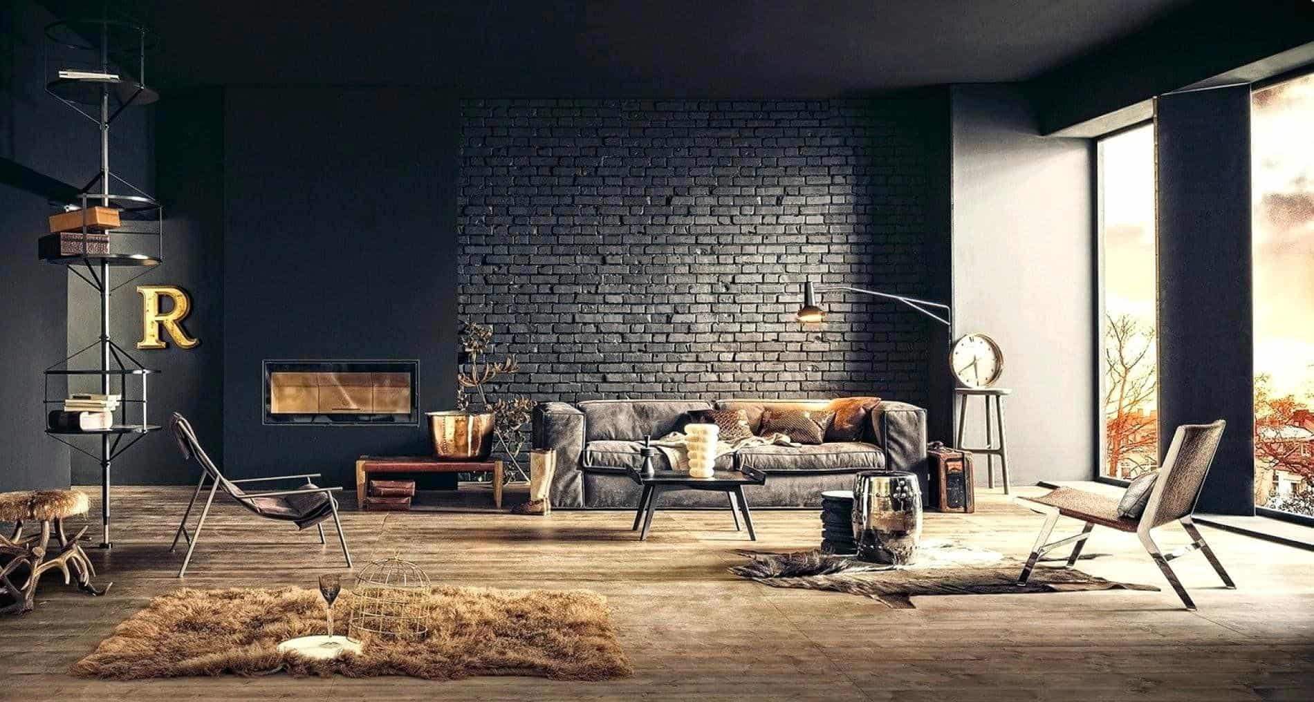 Terrific Rustic Industrial Living Room Ideas To Inspire Download Free Architecture Designs Scobabritishbridgeorg