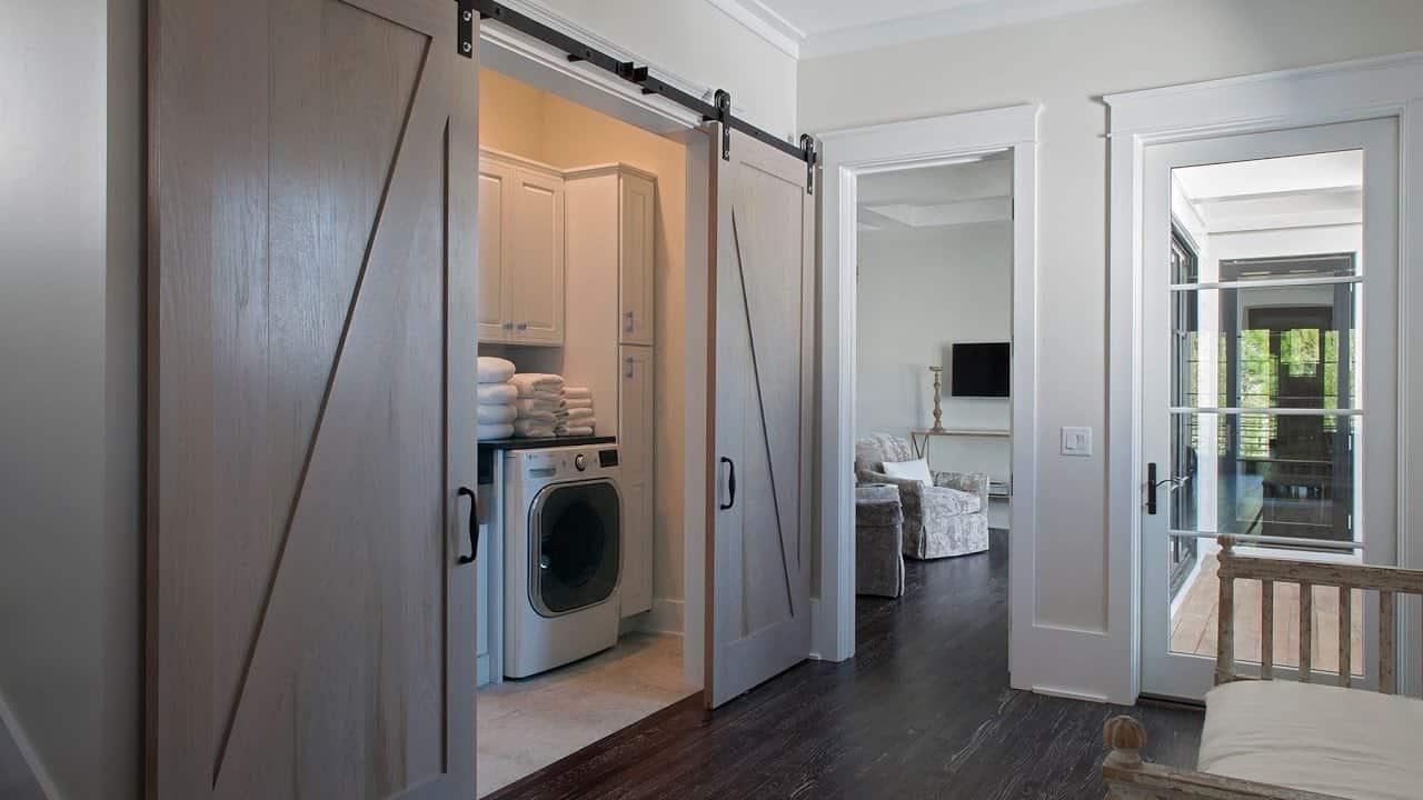laundry room sliding door