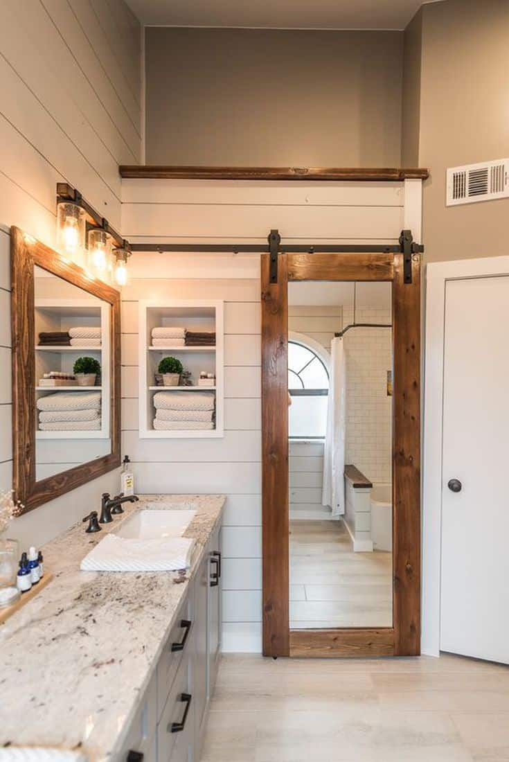 mirror barn doors