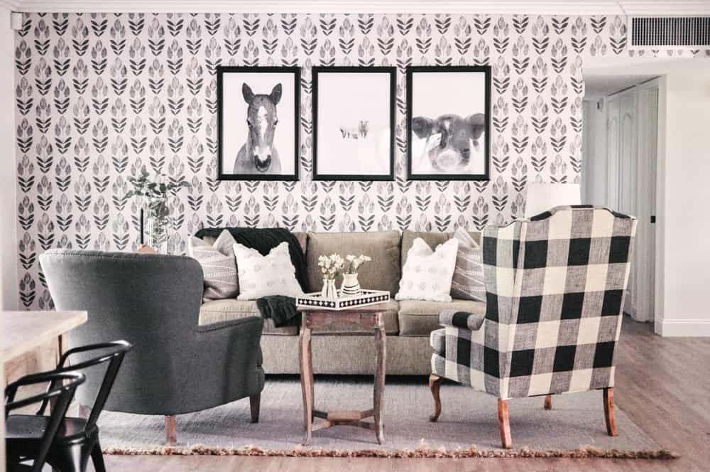 pattern and pattern Farmhouse Living Rooms That Will Take Your Breath Away