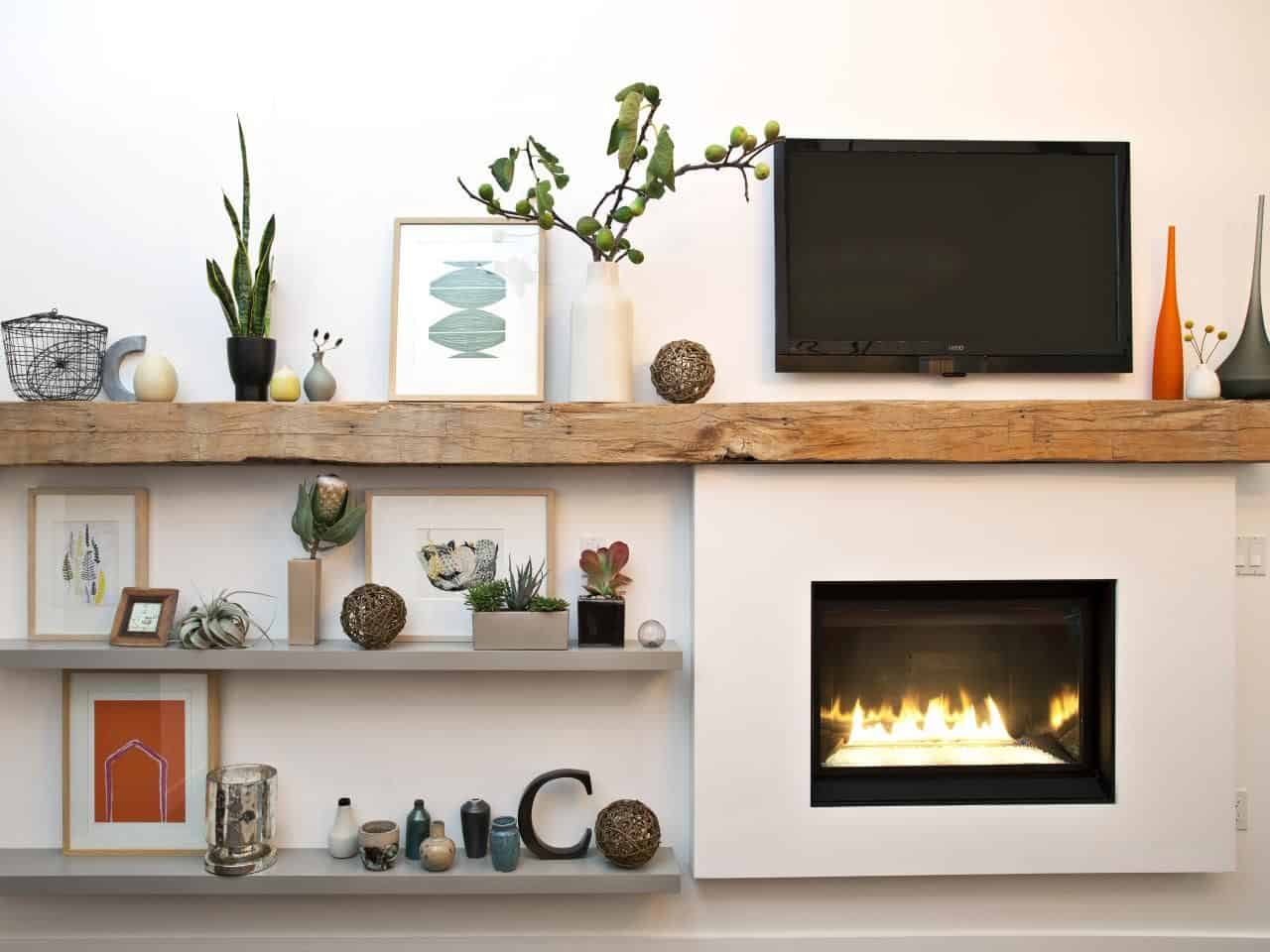 modern wall shelves units