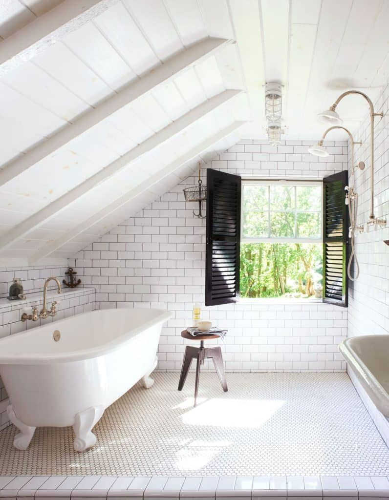 shiplap and tiles