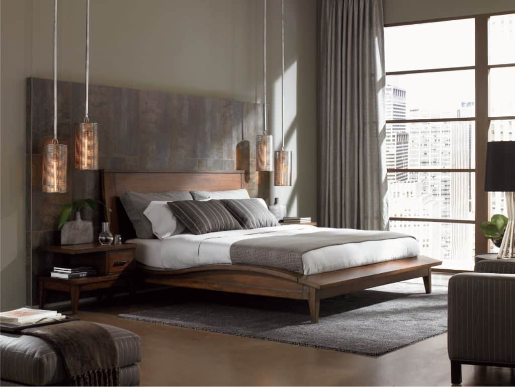Mid Century Modern Bedroom Furniture Design – Hupehome with regard to Mid Century Modern Bedroom