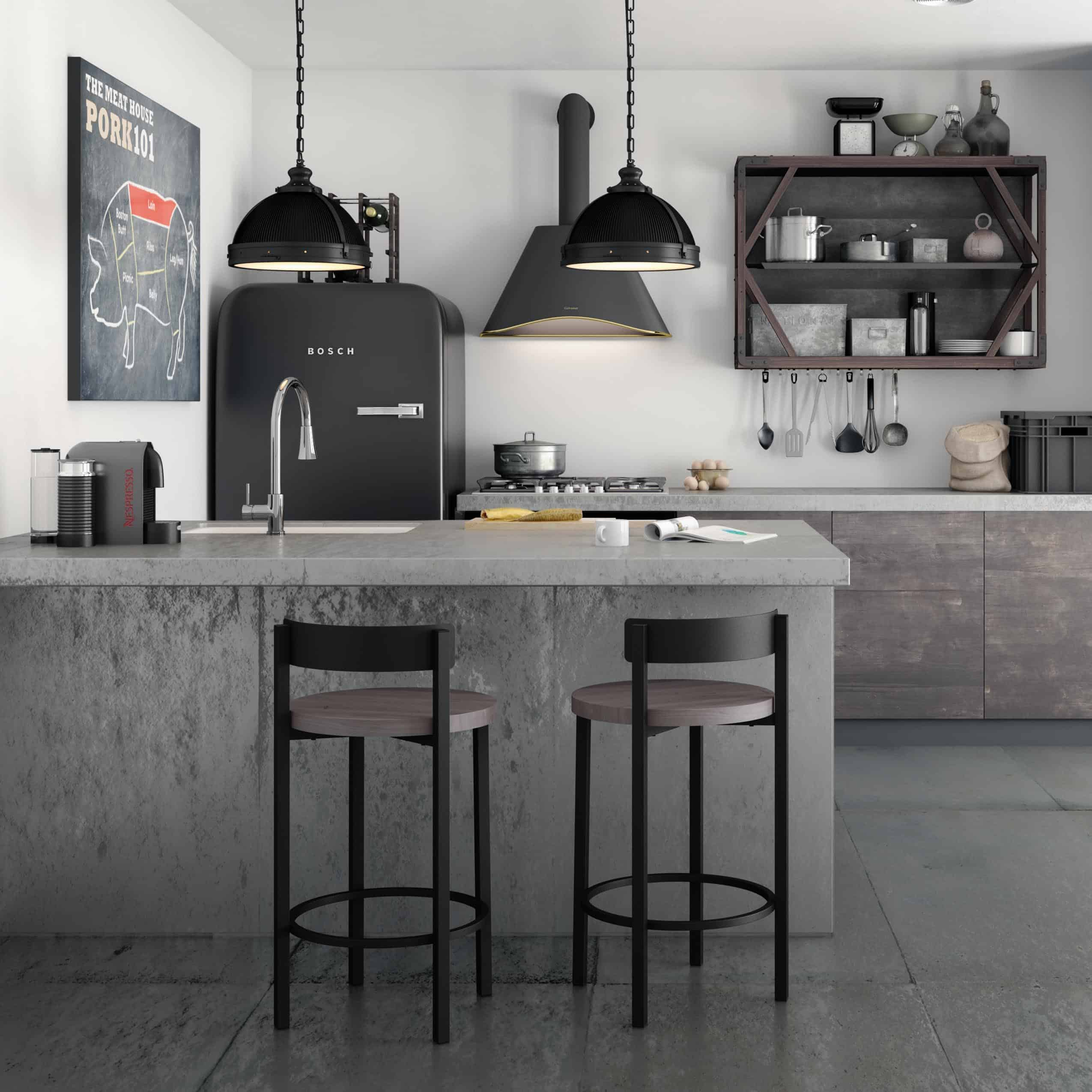 industrial barstools Best barstools to instantly upgrade your kitchen