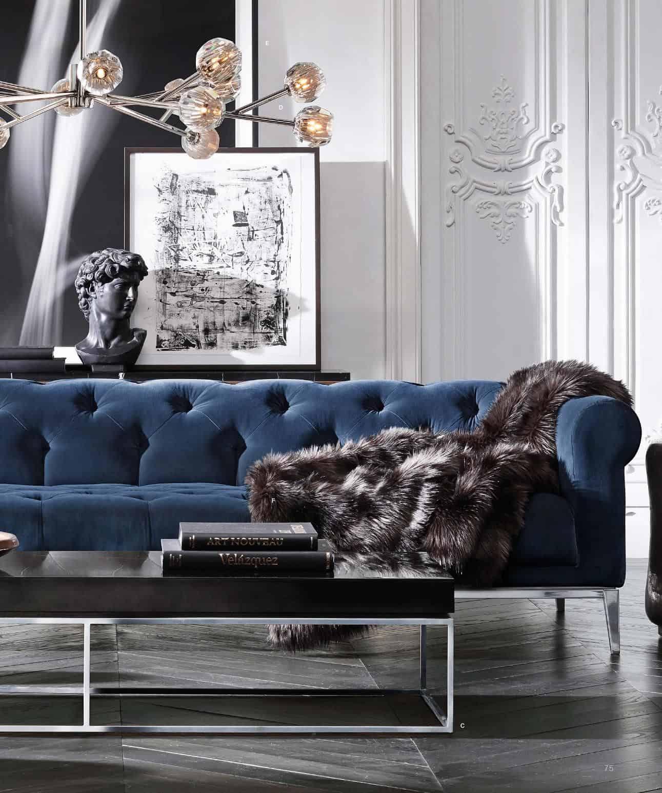 luxury blue