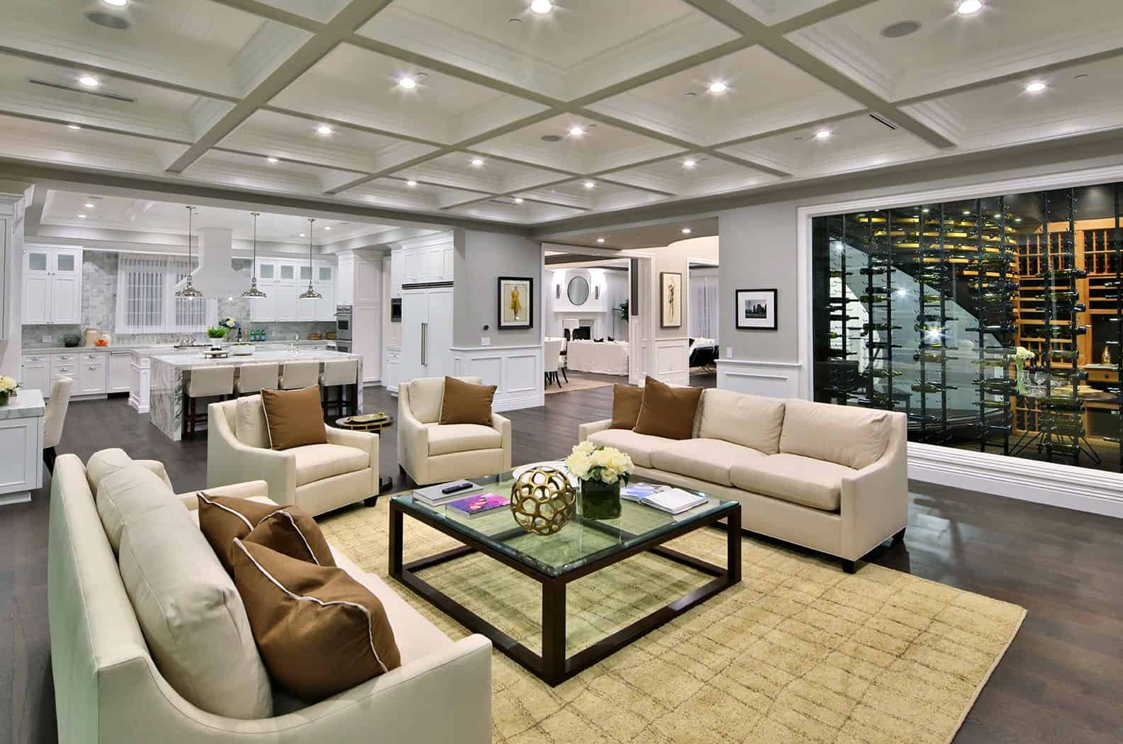 open concept lviing room Glamorous Contemporary Living Rooms You Must See