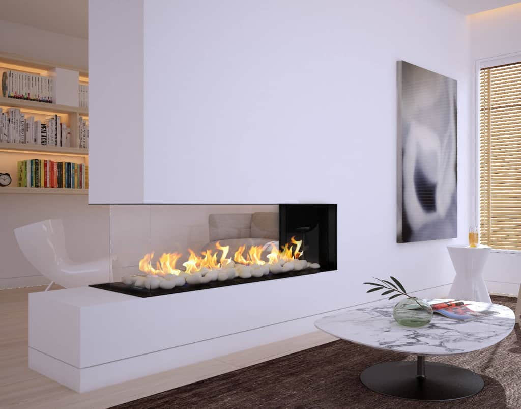 peninsula fireplace