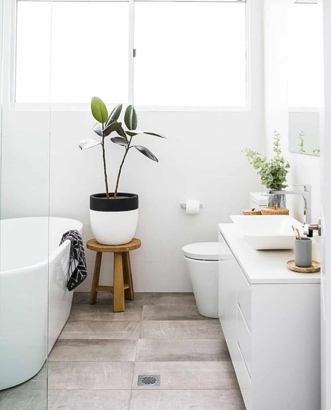 smaller white bathroom