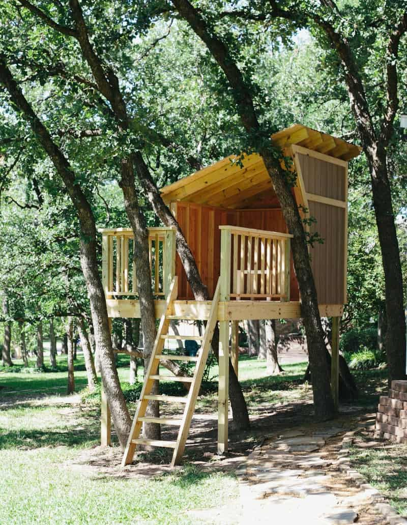 Pallet Treehouse Plans Inspirational Building A Treehouse