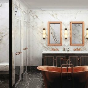 Luxury bathrooms that are all about relaxing