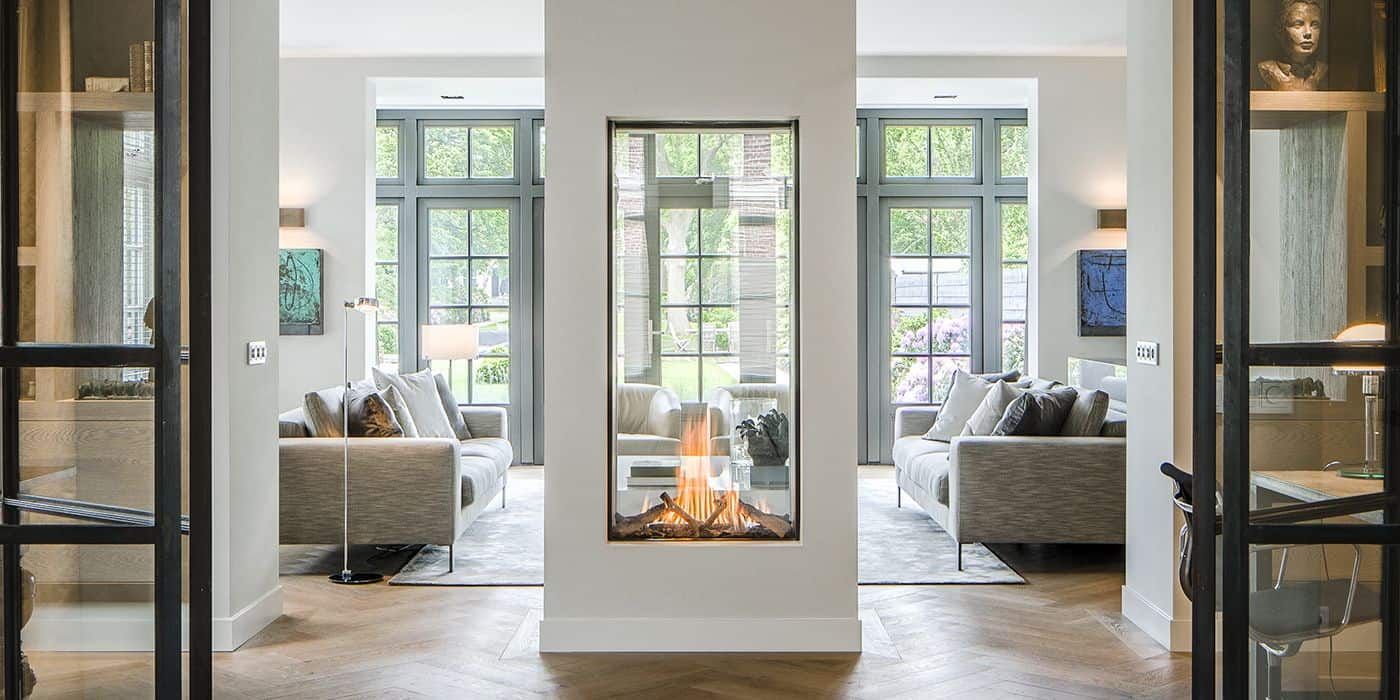 vertical fireplace Contemporary fireplace ideas that are too charming to pass up