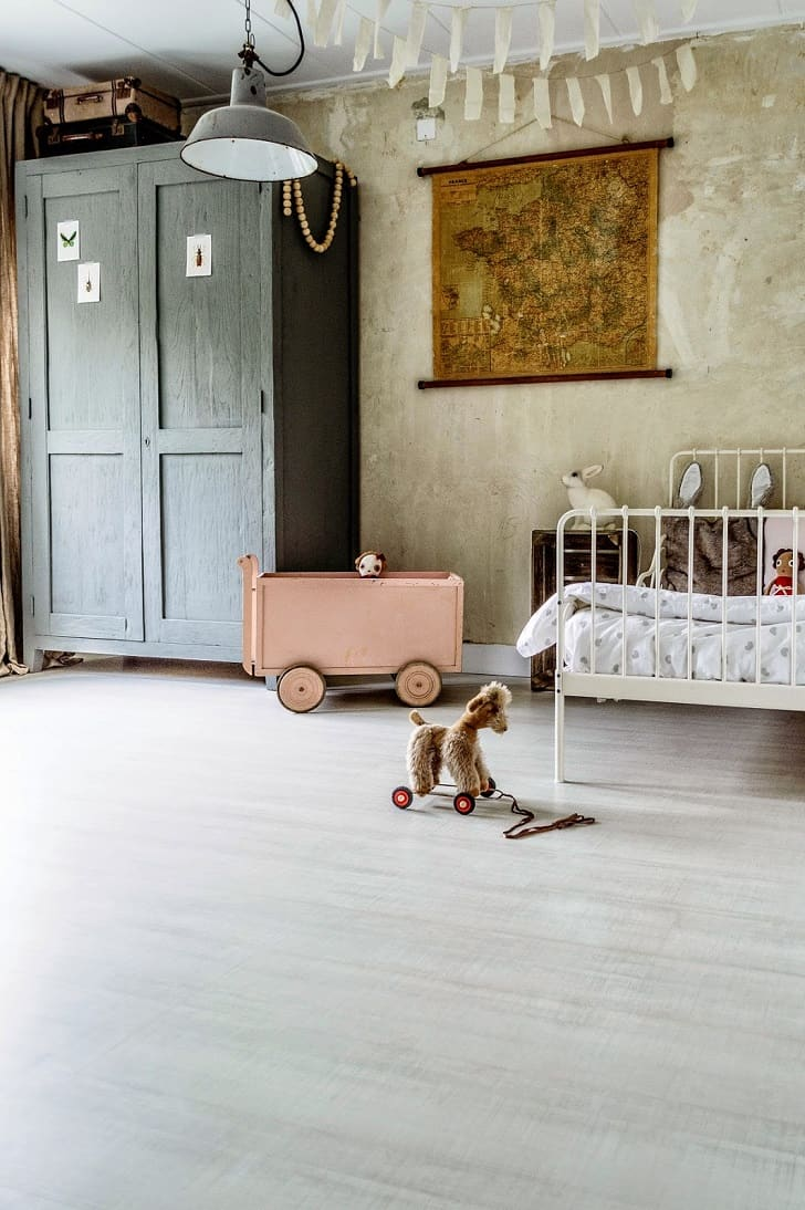 vintage bedroom for kids'
