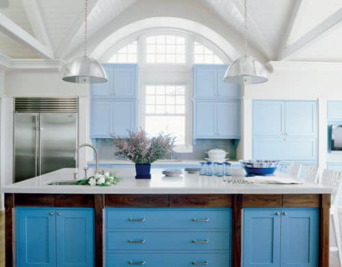 10 Blue Kitchen Cabinet Ideas to Upgrade Your Kitchen Today