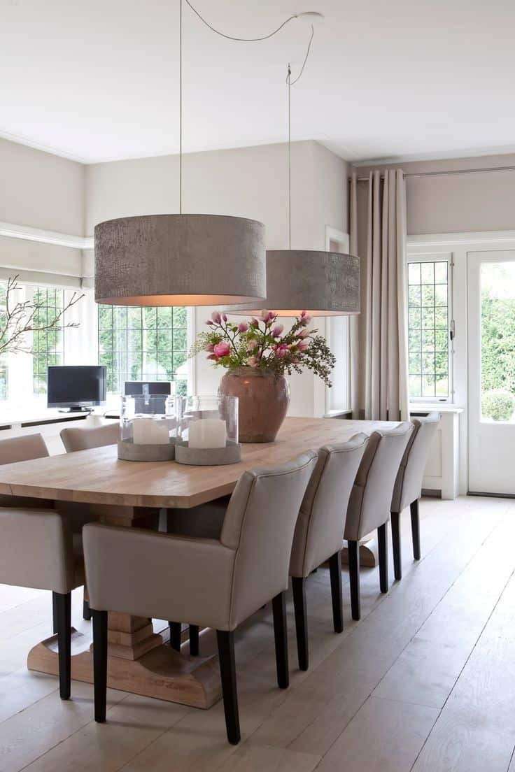 Dining room lighting trends for 2019 - Dining room trends 2019 ...