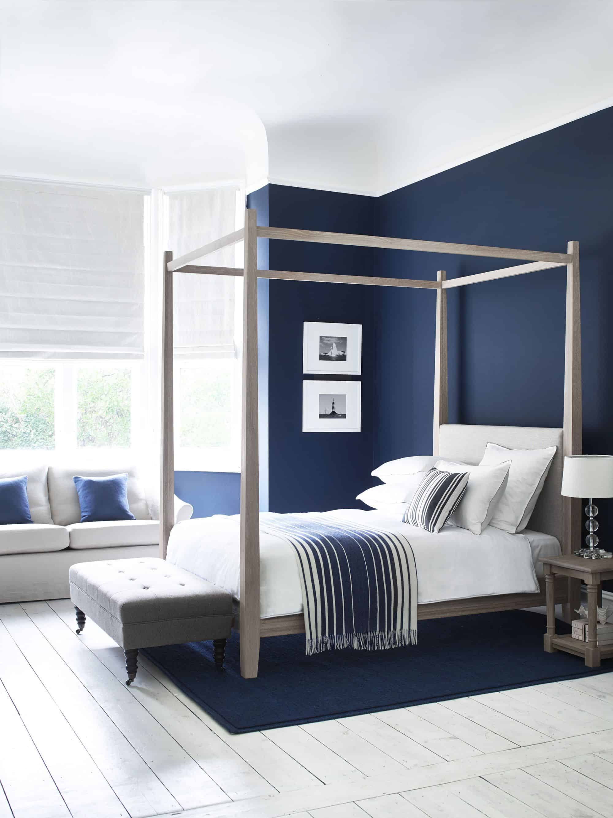 navy staement wall