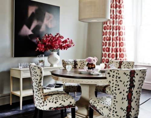10 Chic Ways To Decorate With Animal Print