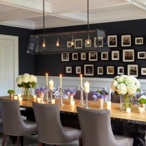 10 Stylish Accent Walls To Dress Up Your Dining Room