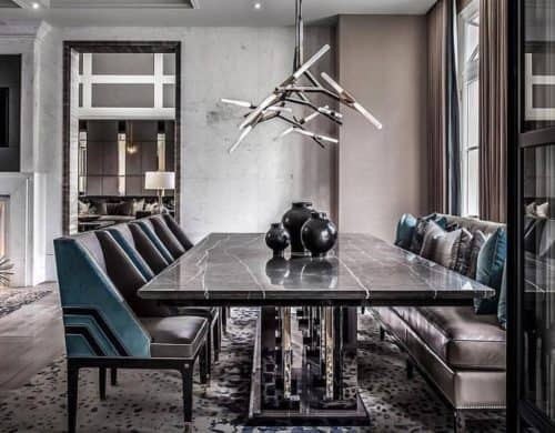 Fascinating Masculine Dining Rooms