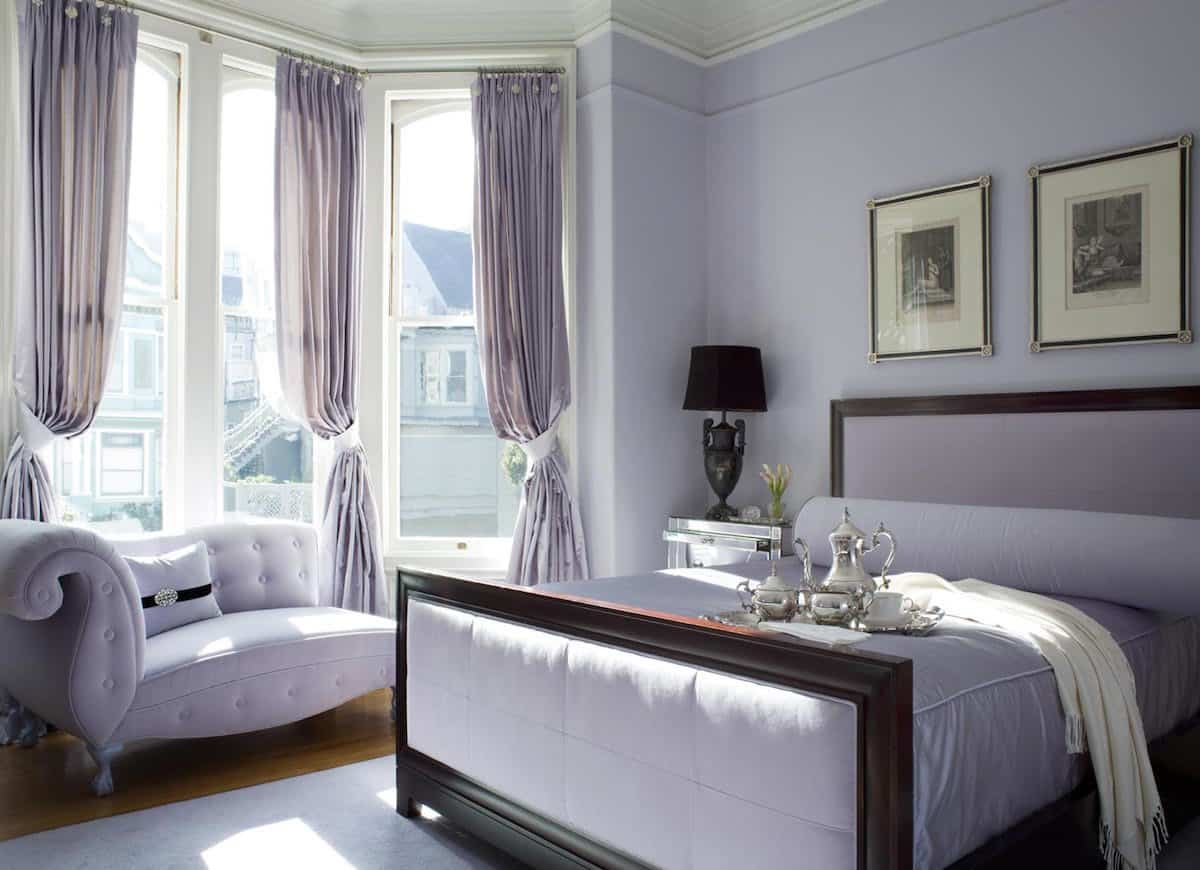 lilac bedroom Best Colors To Paint Your Bedroom