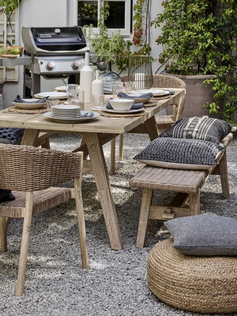 organic porch decor