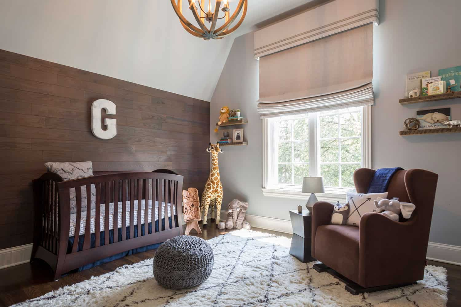 rustic nursery Nursery Trends for The Modern Parent