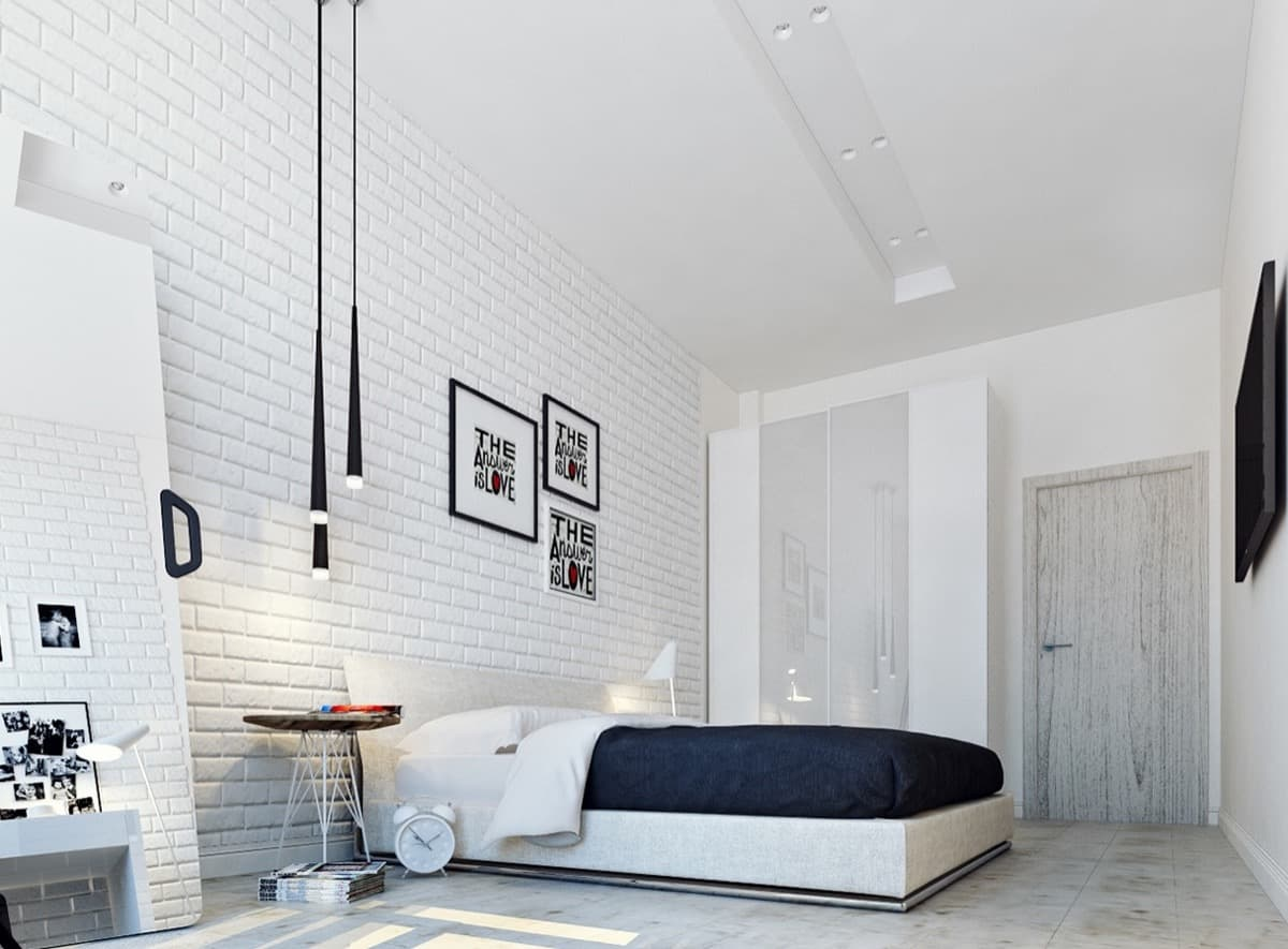 white evdriin Small Bedroom Design Ideas That Are All The Rage