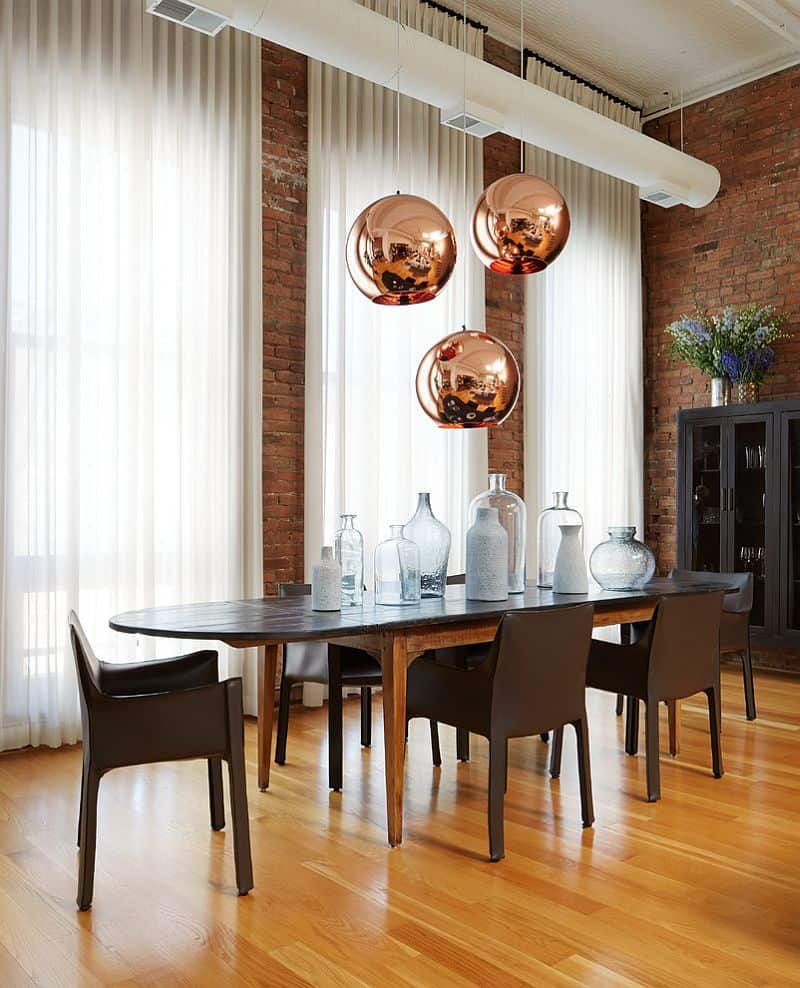 bronze hues in dining room Home Decor Stylish Color Trends for 2019