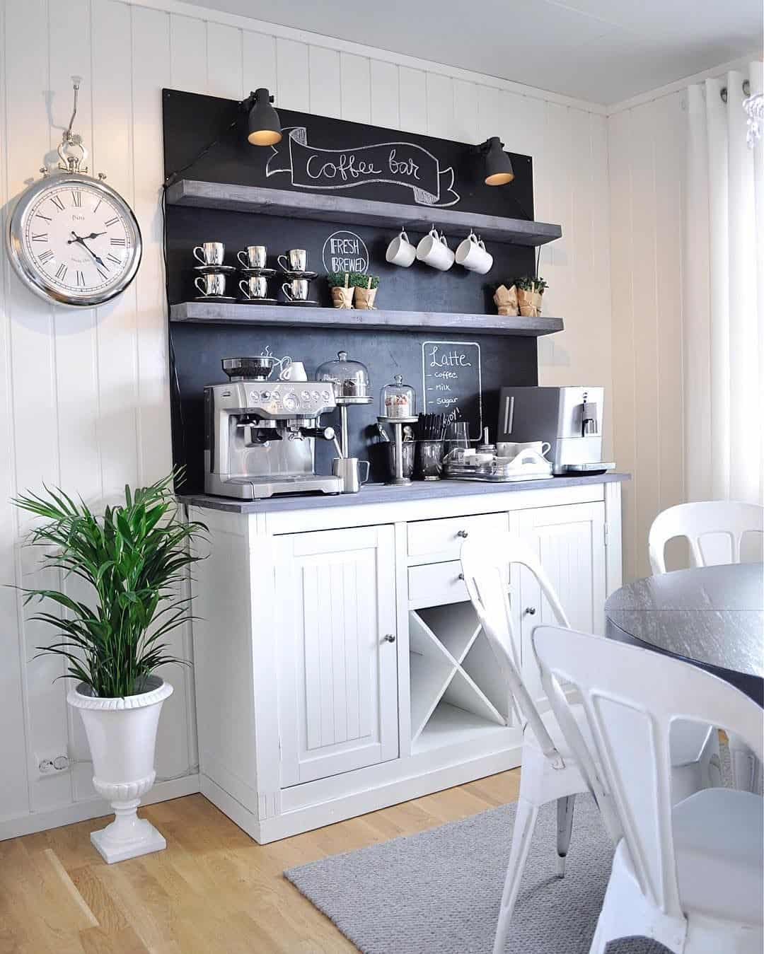 coffee bar kitchen