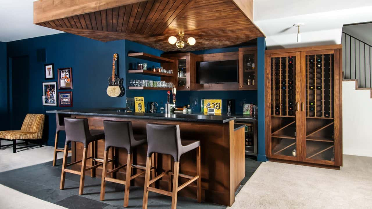 Home Bar Design Ideas That Are Too Enchanting To Pass Up