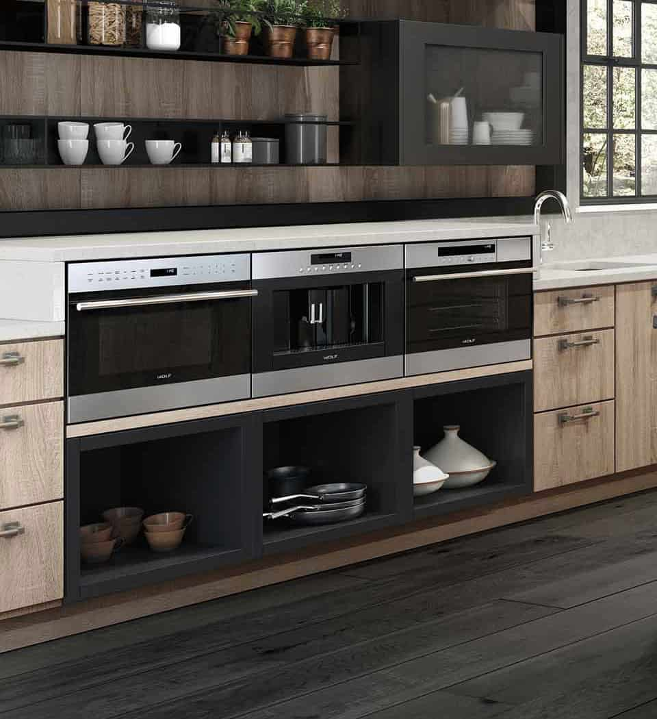 multiple cooking spaces Dream Kitchen Must Haves