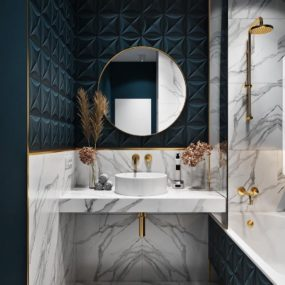 Creative Tile Ideas To Enhance The Bathroom