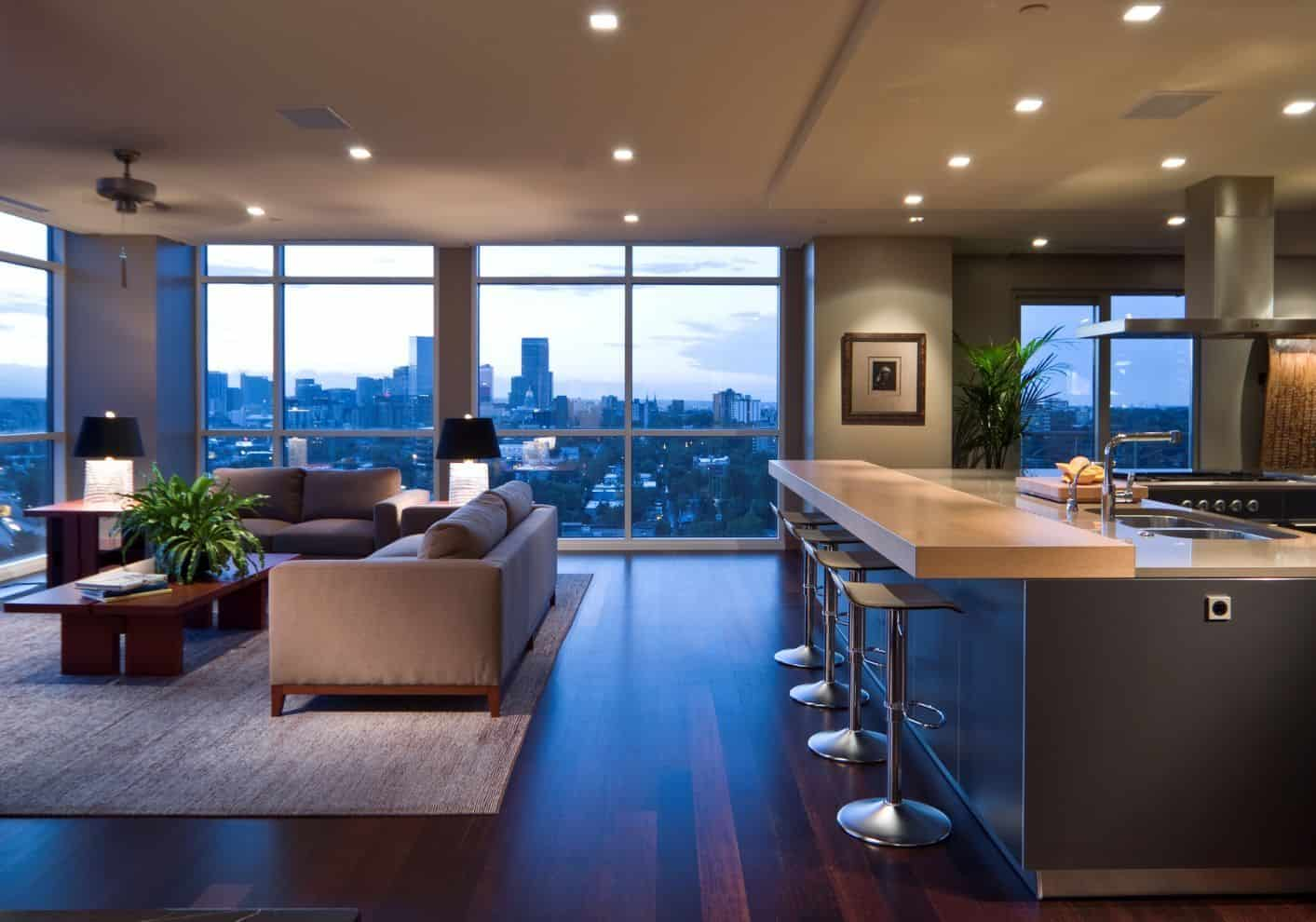open floor plan kitchen 2