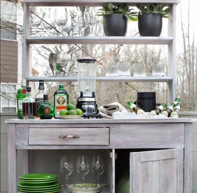 outdoor bar Home Bar Design Ideas That Are Too Enchanting To Pass Up