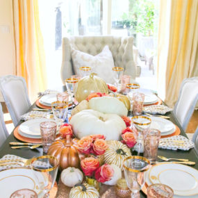 Stunning Fall Dining Room Centerpiece Ideas
