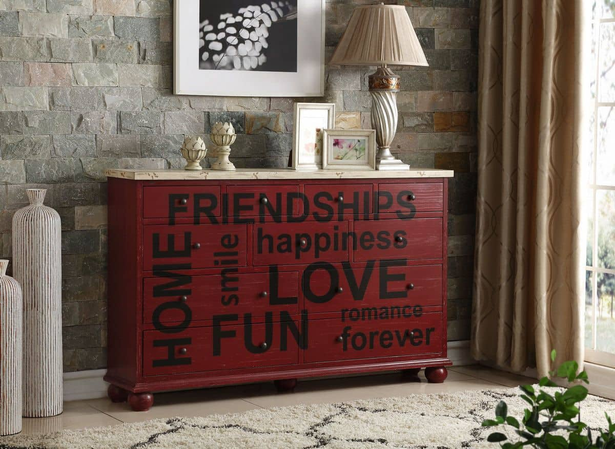red console