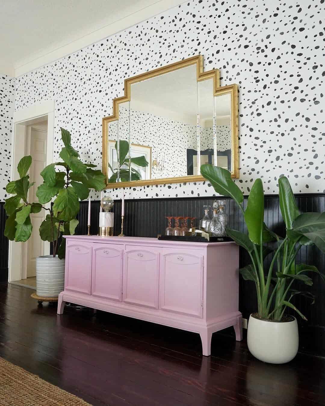 speckled wallpaper