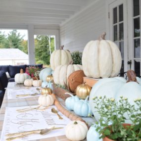 Faux Pumpkins That Bring The Charm Instead Of The Spook