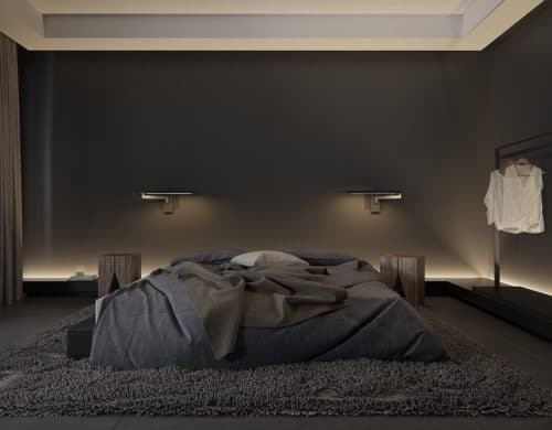 Black Bedrooms With An Alluring Femininity